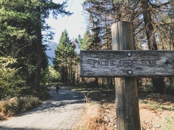 PCT Dry Creek Falls Trail